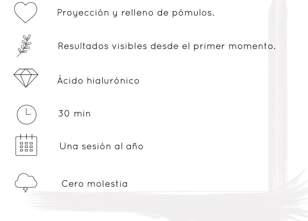 Pómulos elevación Vigo