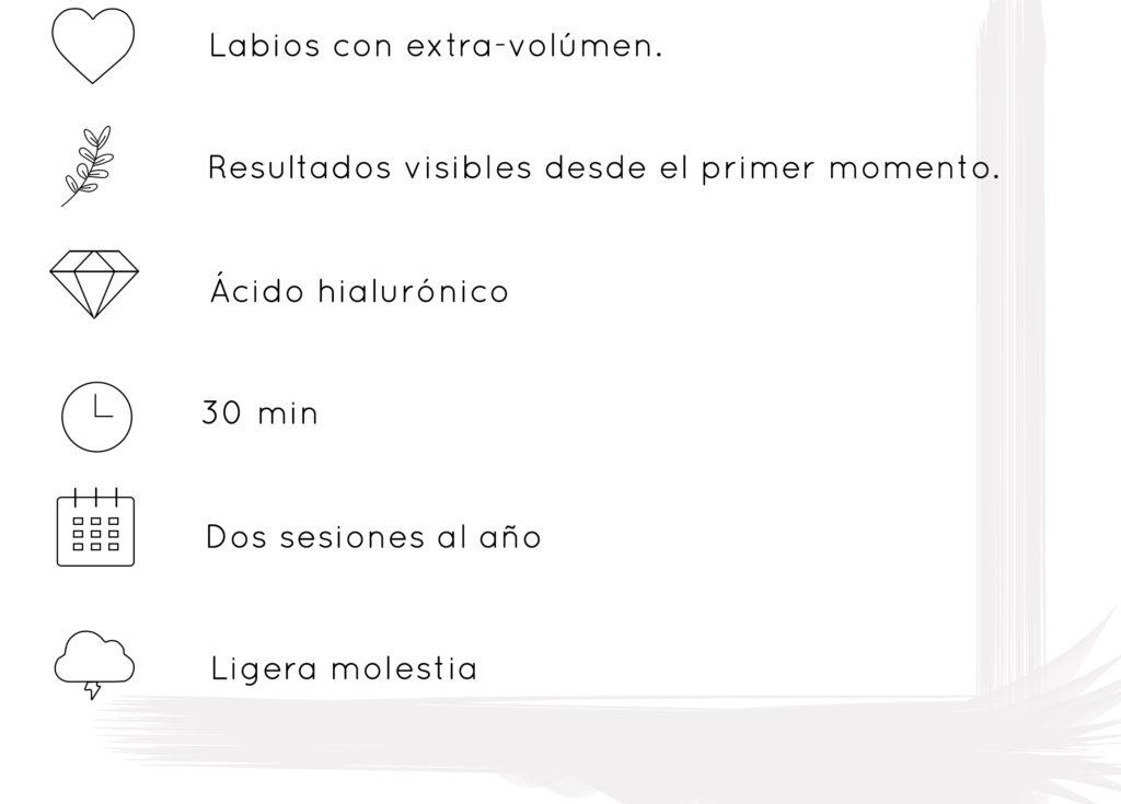 Relleno Labios acido hialuronico Vigo